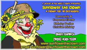 Sunflower The Clown